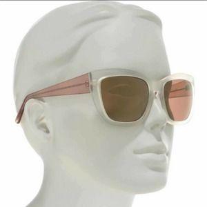 Joe's Jeans Sunglasses Matte Clear #JJ 6019 91